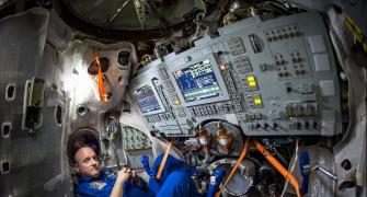PHOTOS: How this astronaut spent a year in space