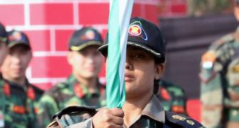 Take a bow, Lieutenant Colonel Sofiya Qureshi!