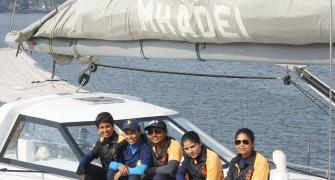 India's first all-women crew set to sail around the world