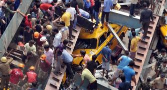 Flyover collapse tragedy: Rescue operations commence