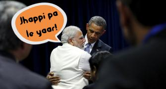 PHOTOS: NaMo's hugs of the year!