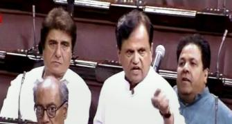 Why Ahmed Patel is so angry