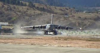 IAF lands mighty C-17 Globemaster near Indo-China border