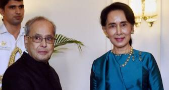 Every time I come to India I realise how close we are: Aung San Suu Kyi