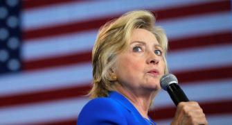 Don't lose heart: Clinton's message on US election day