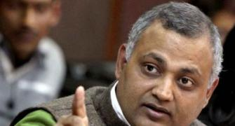 AAP MLA Somnath Bharti sentenced to 2 years in jail