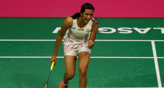 China Open: Sindhu enters quarters; Saina, Prannoy crash out