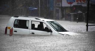 PHOTOS: Mumbai flooded after heavy downpour