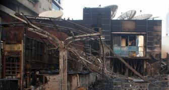 PHOTOS: What the fire at Kamala Mills left behind