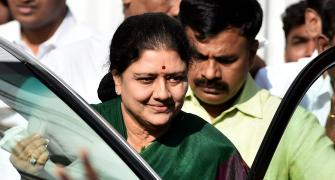 It was now or never for Sasikala