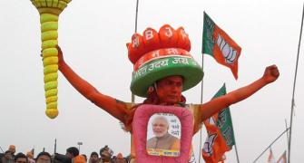 'People seem to be mesmerised by Modi'