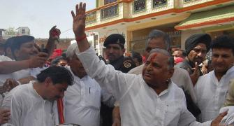 Are Mulayam and Akhilesh batting for the same side?
