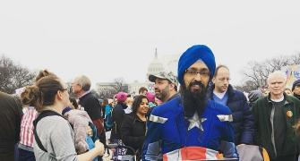 A Sikh Captain America in Trump's America