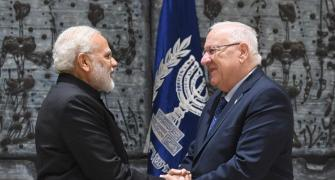 'I for I, India for Israel', says Modi after meeting Rivlin
