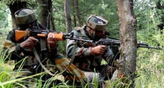 Security forces 'hunt down' 102 terrorists in J&K in 2017