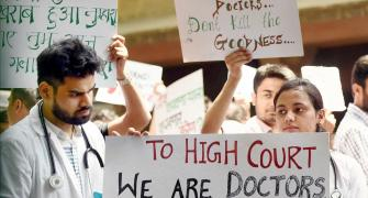 'I don't think a strike will sort doctors' problems'