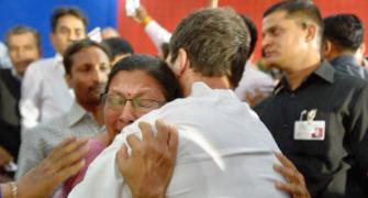 Why Rahul Gandhi hugged this lecturer in Gujarat