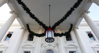 Melania's White House Christmas decorations are magical!
