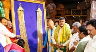 The man who donated a Rs 8-cr garland to Lord Balaji