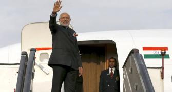 Modi's 2017 travel bill: Rs 765 million