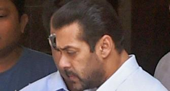 Salman Khan's brush with the law