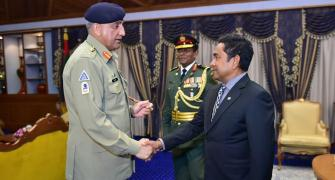 Pak army chief's visit to Male must worry India