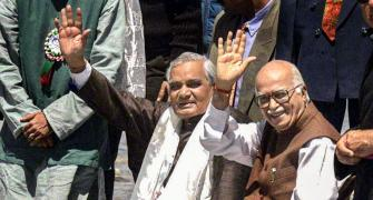 How Vajpayee rose on foundation built by Advani
