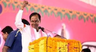 KCR: From obscure Congress foot soldier to mascot of Telangana pride