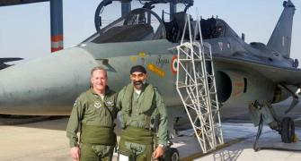 US Air Force chief flies 'Made in India's Tejas
