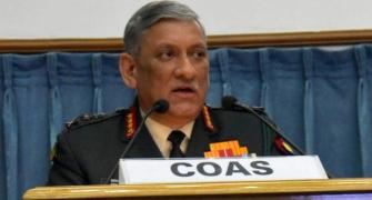 'Army chief is talking like a politician, it is sad'