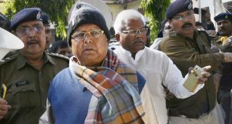 Lalu may be in jail, but he's still the boss!
