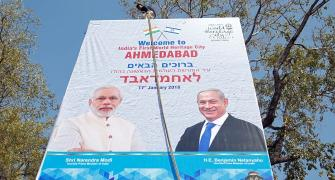 Red carpet welcome awaits Netanyahu in Modi's home state