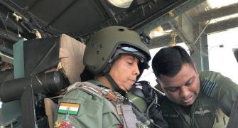 Strapped in G-suit, Sitharaman takes to the skies in Sukhoi