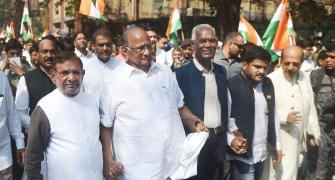 Pawar eyes Opposition top slot but Mamata won't allow it