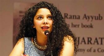 Complaint against Rana Ayyub for 'Delhi violence' clip