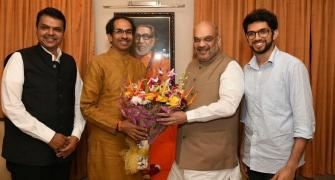 As always, Shiv Sena willing to strike but afraid to wound BJP?