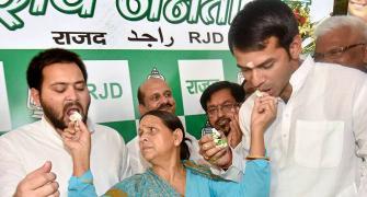 How will RJD quash Tej Pratap's revolt?