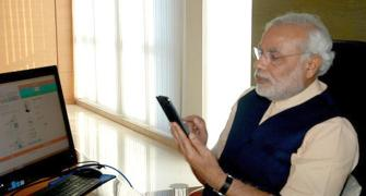 NaMo App: 'He is still subject to the law'