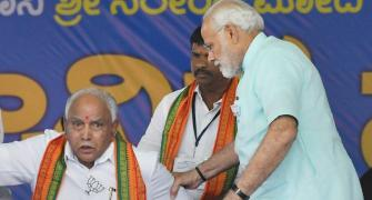 Modi-Shah face their first challenge in Yediyurappa