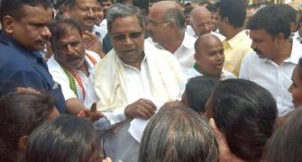 In Badami, it's advantage Siddaramaiah