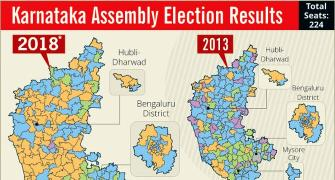 2018 vs 2013: How Karnataka turned saffron
