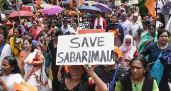 'Women entering Sabarimala will disturb devotees' mental peace'