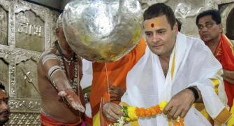 Rahul's temple run is smart politics