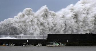 Typhoon Jebi, Japan's most powerful storm in 25 years, wreaks havoc