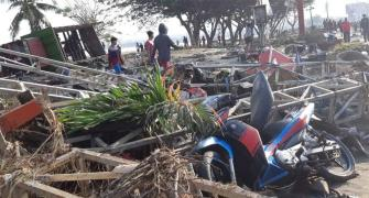 384 killed by quake-triggered tsunami in Indonesia