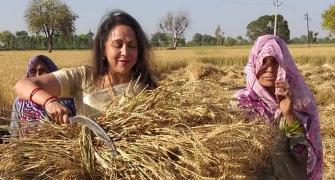 Farmers don't know what they want: Hema Malini