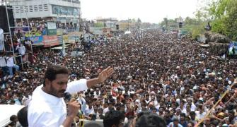 Does even Modi draw crowds like Jagan?
