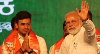 BJP's Tejasvi Surya is young but no novice in politics