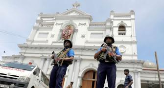 'We have nothing to do with the blasts in Lanka'