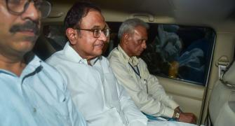 High drama as CBI arrests Chidambaram from his home